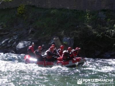 Rafting Noguera Pallaresa - Parque Nacional de Aigüestortes y Lago San Mauricio; excursiones desde